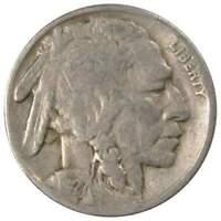 1927 5c Indian Head Buffalo Nickel US Coin VG Very Good