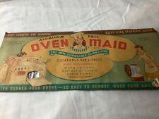 Antique Aluminum Oven Liners in original package