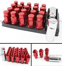 20 PCS JDM SPEC RED TUNER WHEEL RIM LUG NUTS W/ KEYS FITS SCION tC Xb IQ XD