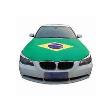 BRAZIL CAR HOOD COVER FLAG 2018 WORLD CUP SHIPS FROM USA 40' x 50' Inches