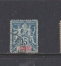 """FRENCH CONGO - 24 - 25 - USED - 1892 - 1900 - """"NAVIGATION & COMMERCE"""""""