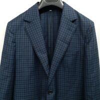 Bonobos 38 Short Slim Fit Houndstooth Plaid Blazer Jacket Sport Coat Unlined