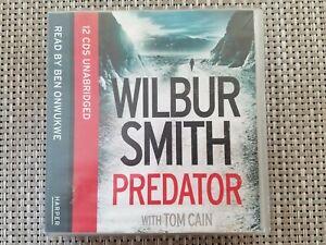 Predator Wilbur Smith Audiobook CD (Missing 1 CD)