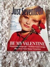 JUST SEVENTEEN MAGAZINE Feb 12th 1986 Jim Kerr Simple Minds