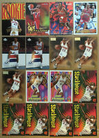 Jerry Stackhouse LOT of 16 Rookie base special issue NM+ 1996-1997 Philadelphia