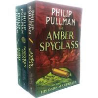 Philip Pullman 20th Anniversary Edition His Dark Materials Trilogy 3 books Set