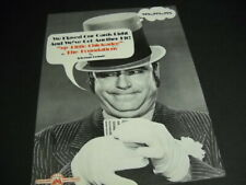 Foundations sing My Little Chickadee W.C. Fields grins 1969 Promo Poster Ad mint