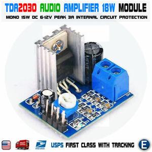 TDA2030A Audio Amplifier Module Power Amplifier Board AMP 6-12V 15W Mono