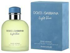 Light Blue by Dolce & Gabbana 2.5 oz EDT Cologne for Men New In Box Original