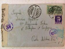 A183 - BUSTA - PM 64 - REGGIMENTO FANTERIA CREMONA X ALASSIO 1940