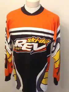 Bombardier Ski Doo Rev Team Men's Top USA Made Sz Large EUC