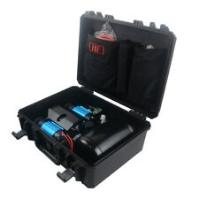 4x4 Accessories CKMTP12 High Output Twin Air Compressor Kit 12V