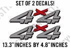 1999-2006 Chevy Silverado 4x4 Decal Vinyl Stickers Bed Side F - 1500 2500