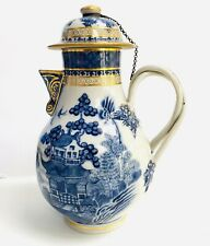 Fine Antique Chinese Export Blue White Porcelain Nanking 18c Chocolate TeaPot