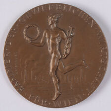 """Edwin Grienauer """"Medal awarded by the Vienna Chamber of Commercial Economy"""",1954"""