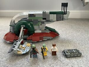 LEGO Star Wars Slave 1 (8097) Complete. Seen In The Mandalorian.