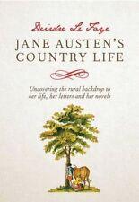 Jane Austen's Country Life, Le Faye, Deirdre, New Book