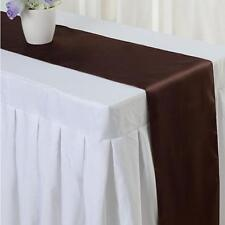 Satin Table Runner Wedding Party Banquet Venue Decorations HOT SLAE - S