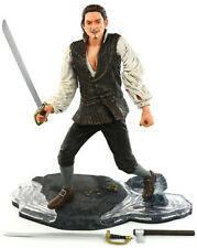 "Pirates of the Caribbean COTBP Series 2 WILL TURNER 7"" Figure NECA 2006"
