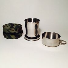 Telescopic Metal Cup Camping Hunting Christmas Secret Santa Gift Ideas For Him