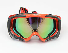 RED Frame Tinted lens Motocross MX Off-Road Dirt ATV Quad Gokart Bike GOGGLES