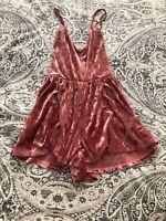 Velvet Pink Romper