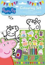 Peppa Pig Jeu De Coloriage Enfants Activité Autocollants