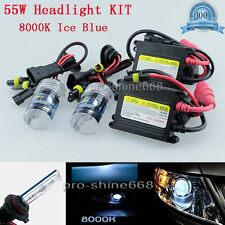 Car 55W H4 9003 Hi-Lo Halogen 8K OEM HID Xenon Replacement Bulb KIT Set Light QL