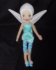 DISNEY STORE TINKER BELL SISTER PERIWINKLE FAIRY STUFFED ANIMAL PLUSH TOY DOLL