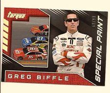 GREG BIFFLE 2016 PANINI TORQUE NASCAR RACING SPECIAL PAINT /99