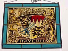 """Bleiverglasung Bleiglas Fensterbild Bernhardt- Glasmalerei """"Bayern- Wappen"""""""