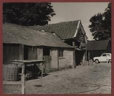 farm  sheds barn yard   English  rural vintage  photograph  mv36