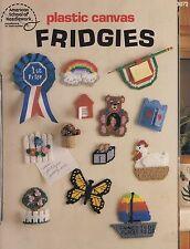 Fridgies, Plastic Canvas Pattern Booklet ASN 3072 Magnets Appliques & More