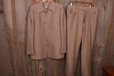 Phoenix 44L Suit Jacket Coat Pants 36 x 32 Four Button VTG