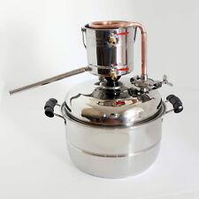 10L Home Brew Kit Moonshine Spirits Essential Oil Alcohol Distiller Boiler