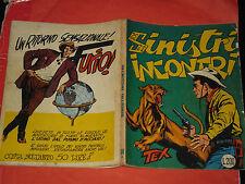 TEX GIGANTE LIRE 200 N°34-SINISTRI INCONTRI 1963-RETRO CON FURIO-no spillato