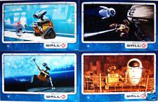 4 Disney Store Presale Lithographs WALL-E (WALL E) 2008