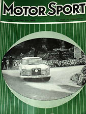 MONTE CARLO RALLY 1960 MERCEDES 220 SE 220SE SCHOCK MOLL SUNBEAM RAPIER TESTED