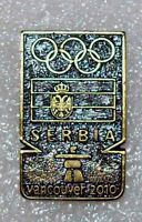 Olympic pin NOC  SERBIA  2010 VANCOUVER  CANADA  very rare