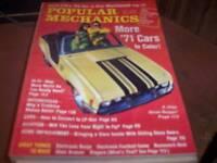 Popular Mechanics Oct 1970 More '71 Cars in Color