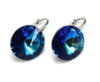 *NEW COLOURS* 925 Sterling Silver RIVOLI Earrings Crystals from Swarovski®