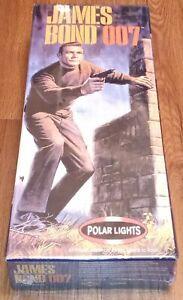 POLAR LIGHTS JAMES BOND 007 SEAN CONNERY MODEL KIT BRAND NEW SEALED