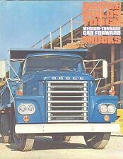 1963 Dodge Medium-Tonnage Cab Forward Truck Sales Brochure