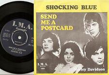 SHOCKING BLUE SEND ME A POSTCARD SWEDISH LOUD PRESSING 45+PS 1970 MOD FREAKBEAT