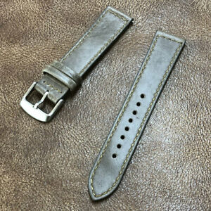 Size 18/20/22mm Quick Release Taper Style Genuine Leather Watch Strap/Band #140