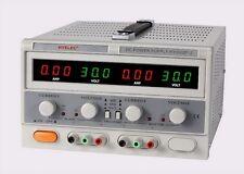 OTE HY3002F-2 DUAL DC POWER SUPPLY (2 x 0-30V, 2 x 0-2A) DUAL COLORLED DISPLAYS