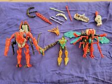 Beast Wars Transformers Parts Lot Waspinator Quickstrike Inferno