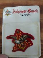 Anheuser Busch Emblems Patches