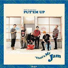 K-POP B.A.P (BAP) 5th Single Album [PUT'EM UP] CD + Photocard + Photobook Sealed