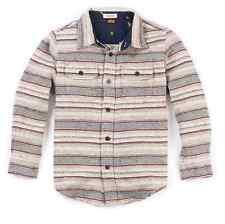 Tailor Vintage Boy's Long Sleeve Double Pocket Stripe Shirt Size 6/7, MSRP $54